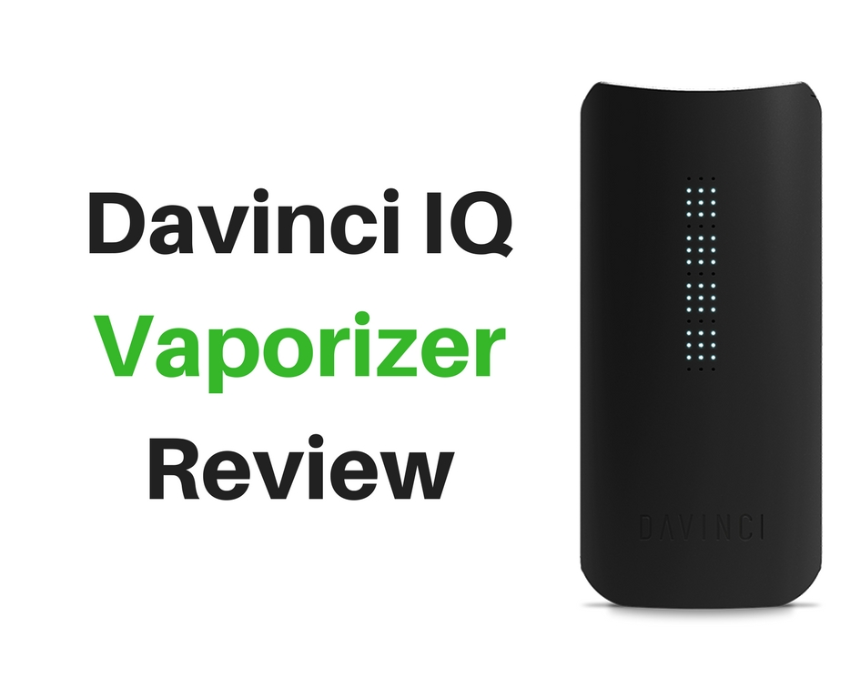 Davinci IQ Vaporizer Review